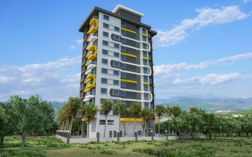 Buy Apartments in Alanya Turkey with Sea View