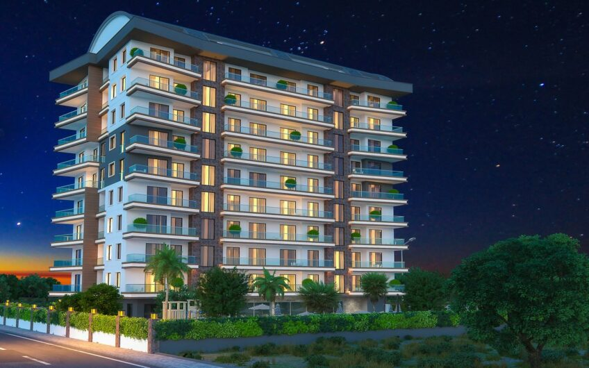 New Apartments and Penthouses for sale in Mahmutlar Alanya