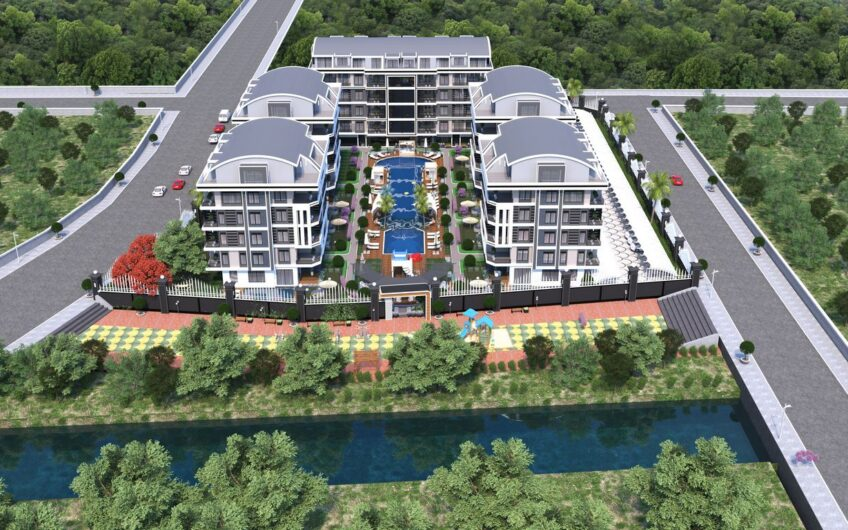 New residential complex project in Oba Alanya Turkey