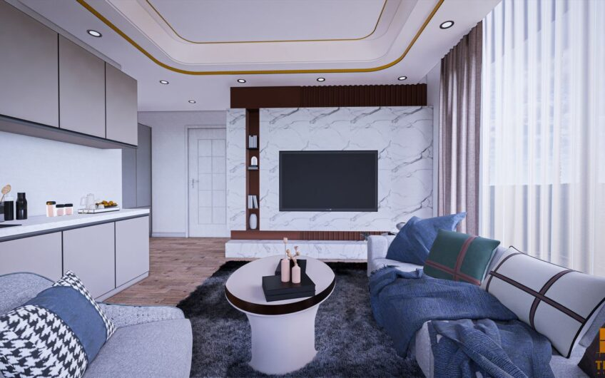 New Project in Avsallar Alanya Directly from Builder
